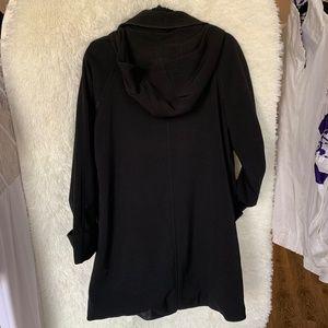 Michael Kors Jackets & Coats - Michael Kors Black Peacoat Raincoat Women's Size S